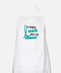 I Wear Teal For My Girlfriend 37 BBQ Apron