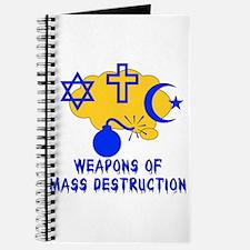 Religion Mass Destruction Journal