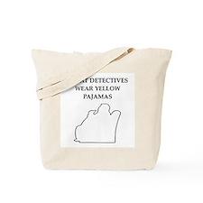 yellow pajamas Tote Bag