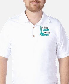 I Wear Teal For My Friend 37 T-Shirt