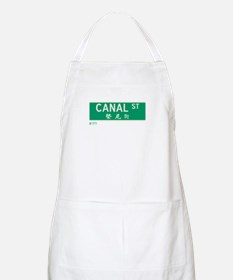Canal Street in NY BBQ Apron