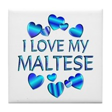 Maltese Tile Coaster