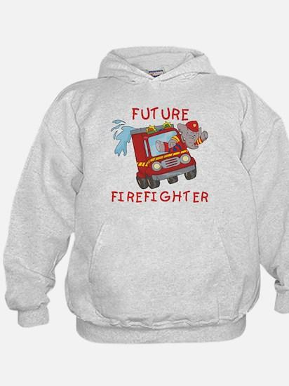 Fire Truck Future Firefighter Hoodie