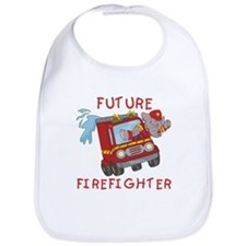 Fire Truck Future Firefighter Bib