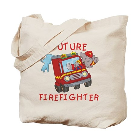 Fire Truck Future Firefighter Tote Bag