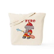 My Hero Firefighter Tote Bag