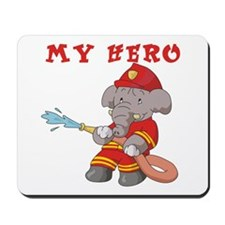 My Hero Firefighter Mousepad