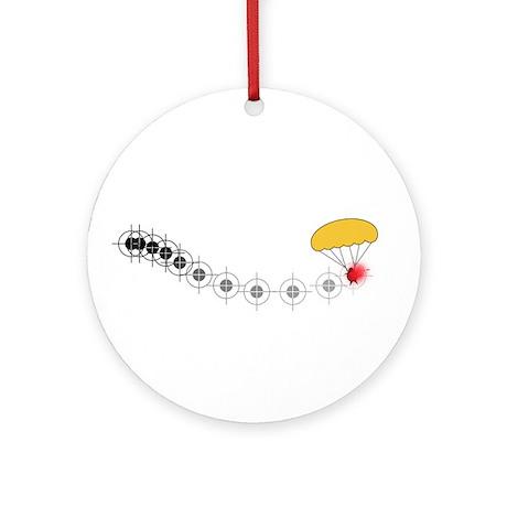 Follow the golden parachute... Ornament (Round)