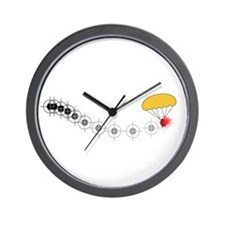 Follow the golden parachute... Wall Clock
