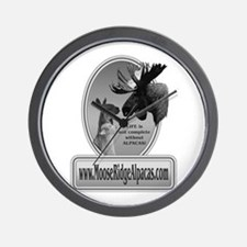 Moose Ridge Logo Wall Clock