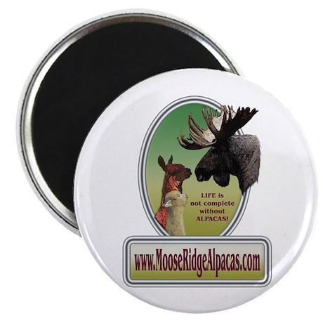 Moose Ridge Logo Magnet