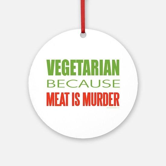 Vegetarian Ornament (Round)