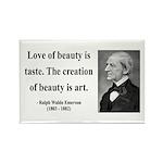 Ralph Waldo Emerson 21 Rectangle Magnet (100 pack)