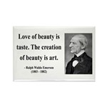 Ralph Waldo Emerson 21 Rectangle Magnet (10 pack)
