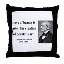 Ralph Waldo Emerson 21 Throw Pillow