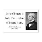 Ralph Waldo Emerson 21 Mini Poster Print