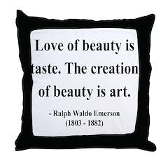Ralph Waldo Emerson 21 Throw Pillow