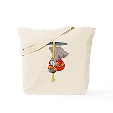 Firefighter Elephant Tote Bag
