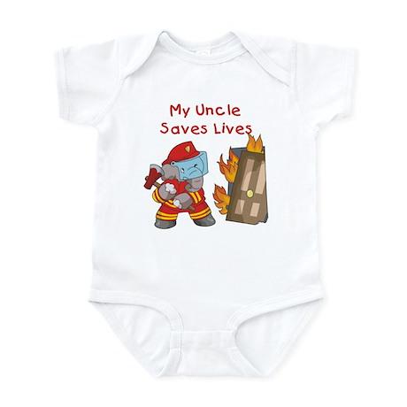 Firefighter Uncle Infant Bodysuit