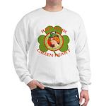 Red Hair Green Heart Irish Girl Sweatshirt