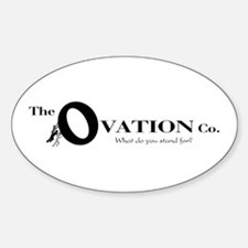 The Ovation Co. Oval Decal
