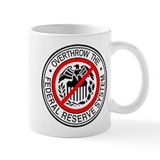Overthrow the Federal Reserve Mug