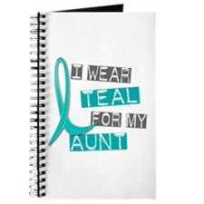 I Wear Teal For My Aunt 37 Journal