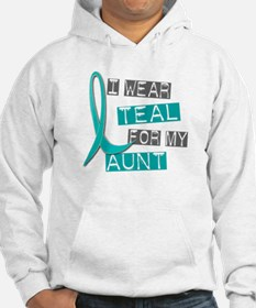 I Wear Teal For My Aunt 37 Hoodie