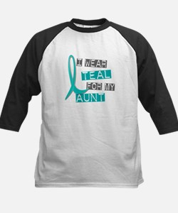 I Wear Teal For My Aunt 37 Tee