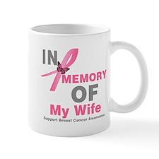 BreastCancerInMemoryWife Mug