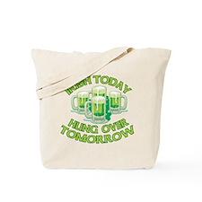 IRISH Hangover Green Beer Tote Bag