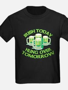 IRISH Hangover Green Beer T