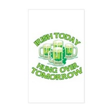 IRISH Hangover Green Beer Decal
