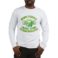 IRISH Hangover Green Beer Long Sleeve T-Shirt