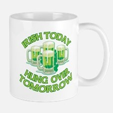 IRISH Hangover Green Beer Mug