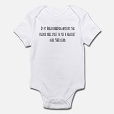 If Breastfeeding offends you. Infant Bodysuit