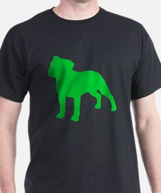 Staffordshire Bull Terrier St. Patty's Day T-Shirt
