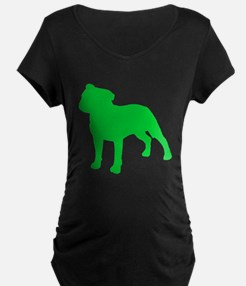 Staffordshire Bull Terrier St. Patty's Day Materni