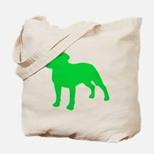 Staffordshire Bull Terrier St. Patty's Day Tote Ba