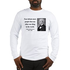 Ralph Waldo Emerson 23 Long Sleeve T-Shirt