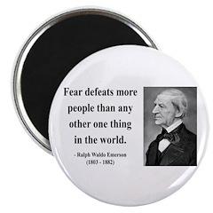 Ralph Waldo Emerson 23 Magnet