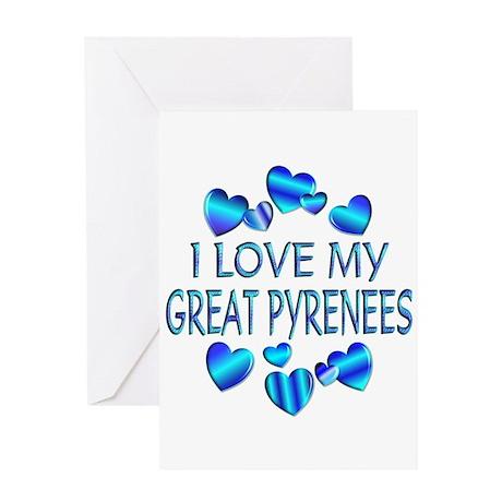 Pyrenees Greeting Card
