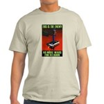 No Wars For Religion Ash Grey T-Shirt