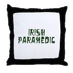 Irish Paramedic Throw Pillow