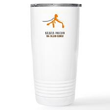 Lava Junkie Brushstroke Travel Coffee Mug