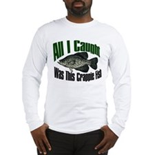 Crappie fish Long Sleeve T-Shirt