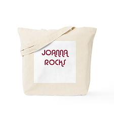 JOANNA ROCKS Tote Bag