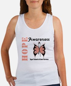 Endometrial Cancer Hope Women's Tank Top
