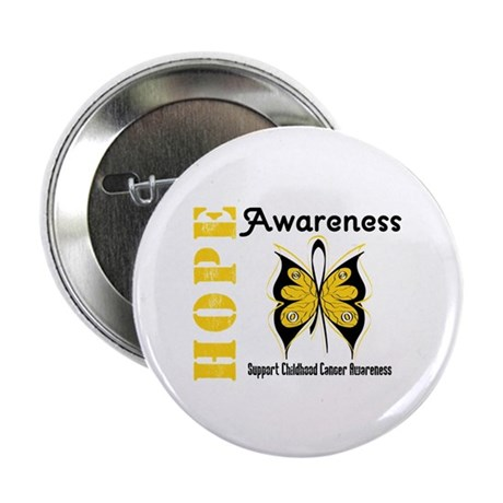 """Childhood Cancer Hope 2.25"""" Button (10 pack)"""