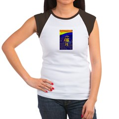 SpaceMan Women's Cap Sleeve T-Shirt